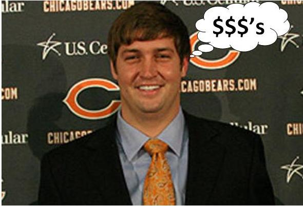 Jay Cutler has signed a contact extension with the Chicago Bears to keep him