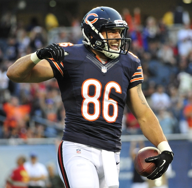 Chicago Bears Top Free Agent Priority is now Zach Miller