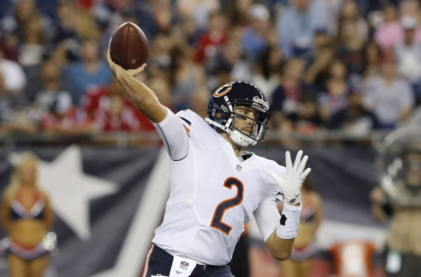 Chicago Bears: What's the Deal with Brian Hoyer?