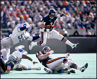This Day in Bears History: Walter Payton Drafted 38 Years AgoWalter Payton Jumping Touchdown