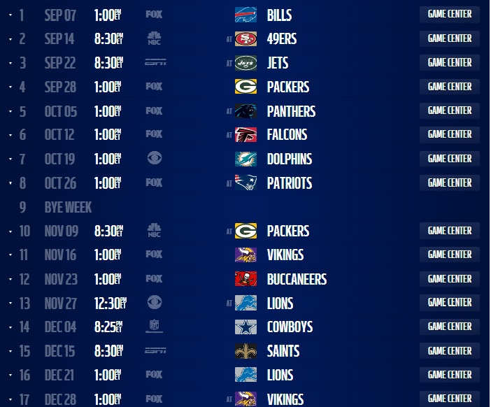 graphic relating to Chicago Bears Schedule Printable titled Chicago Bears 2014 Agenda Introduced