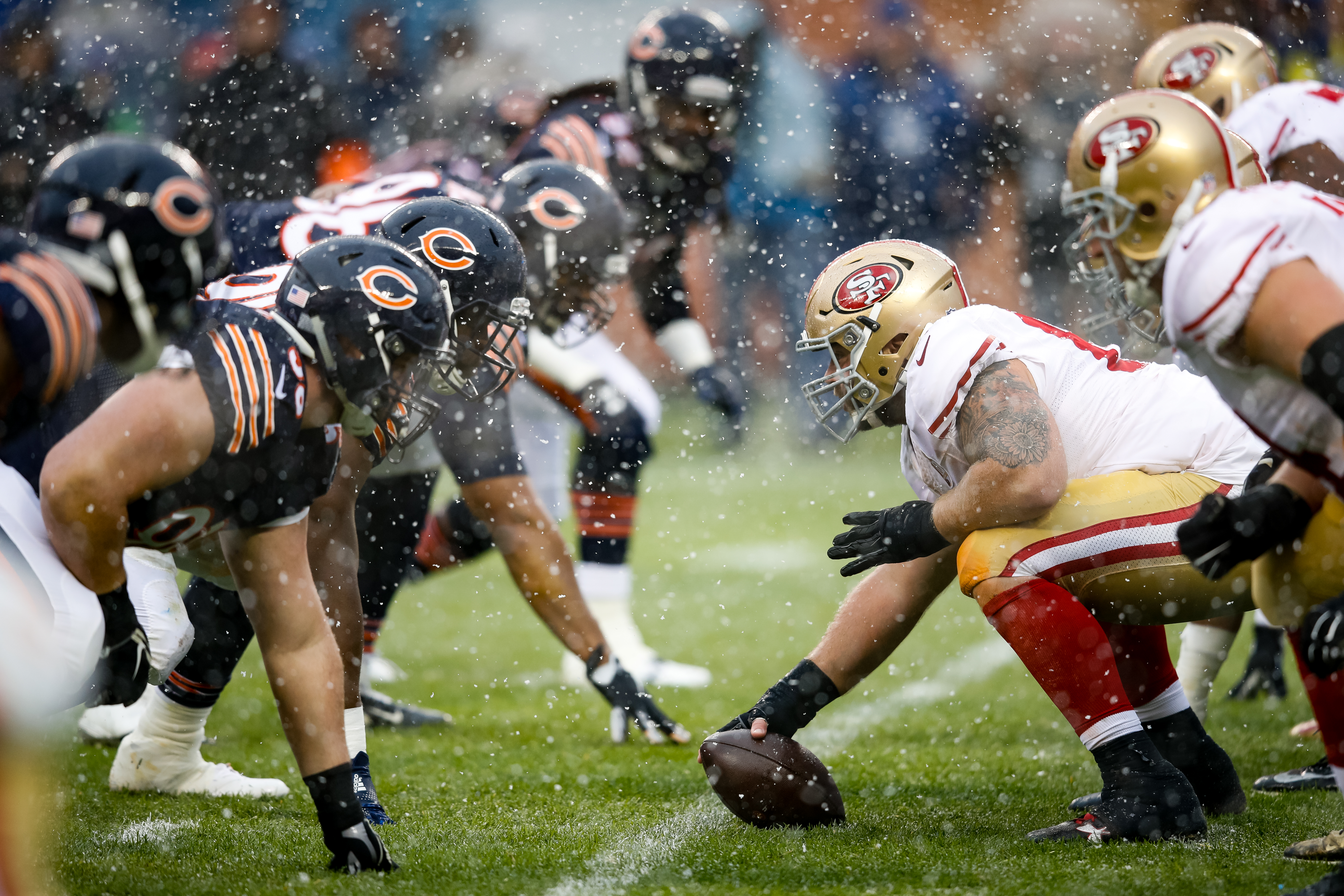49ers' marked improvement on third down leads to win against Bears