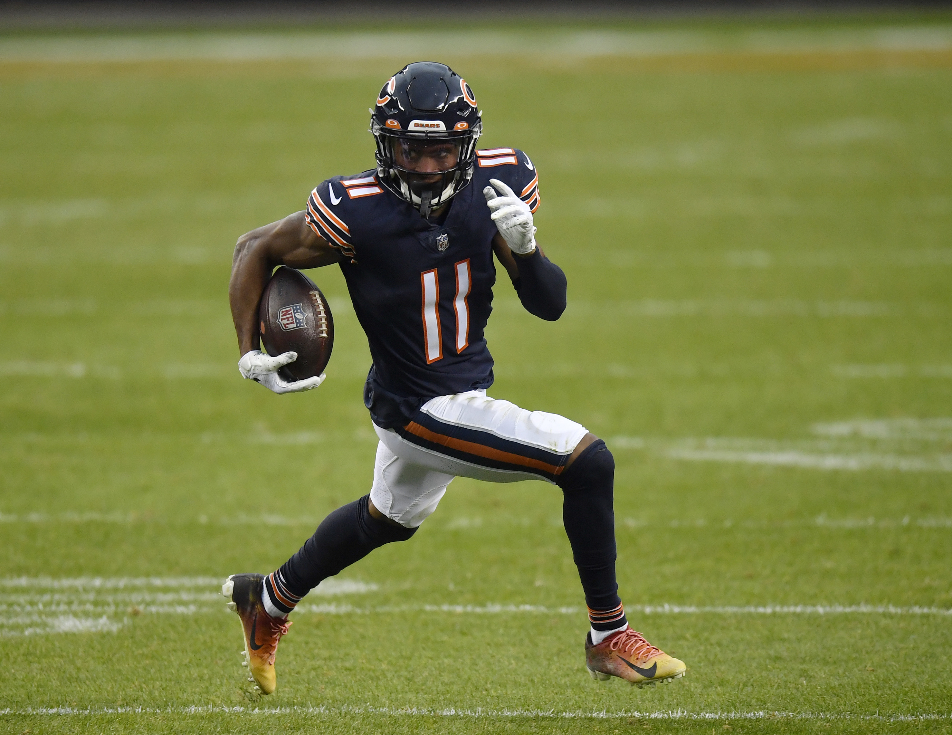 5 comparisons to Darnell Mooney rookie season with Chicago Bears