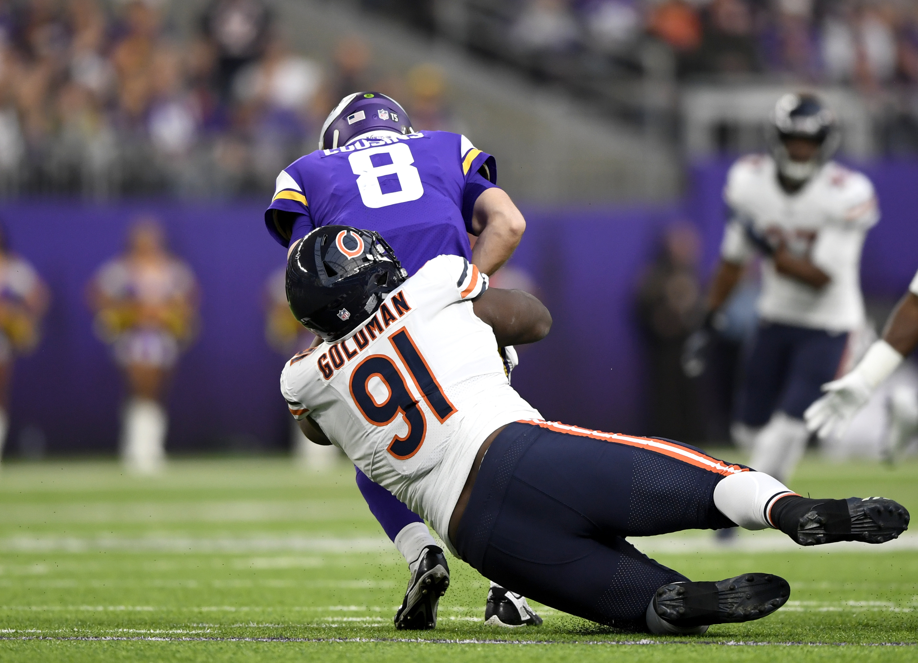 Chicago Bears: Eddie Goldman needs to step up as a pass rusher